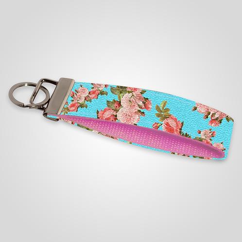 Vintage Floral Custom Keyfob