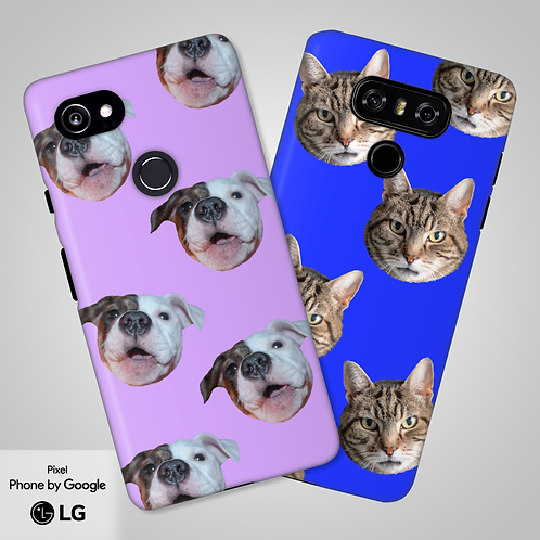 Create-Your-Own Custom Head Only Tough Phone Case | Google, LG