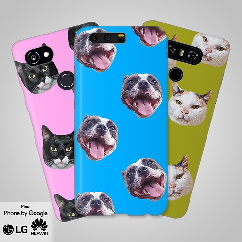 Create-Your-Own Custom Head Only Snap-On Phone Case | Google, LG, Huawei