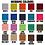 Thumbnail: Create-Your-Own Custom Stripe Keyfob