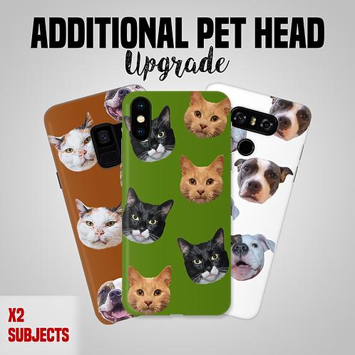 Custom Pet Head Phone Case Upgrade *ADD-ON*