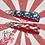 Thumbnail: Vintage American Flag Custom Keyfob
