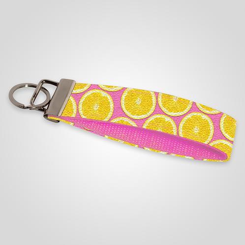 Pink Lemonade Custom Keyfob
