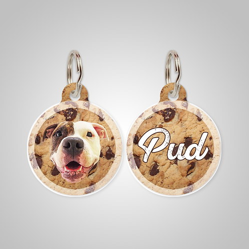 Custom Cookie Dog ID Tag