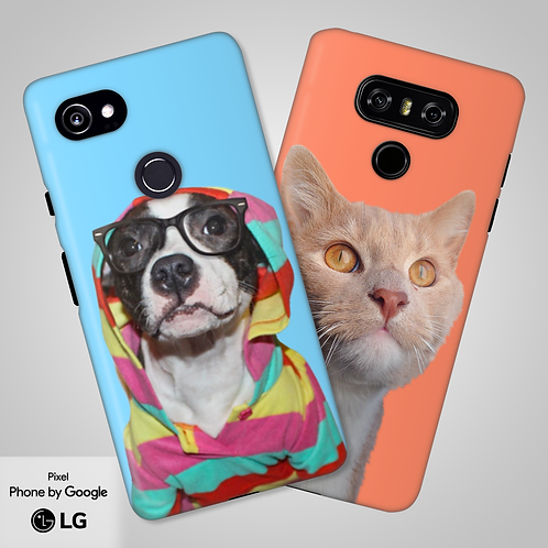 Create-Your-Own Custom Head and Shoulders Tough Phone Case | Google, LG