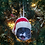 Thumbnail: Custom Pet Head Christmas Ornament