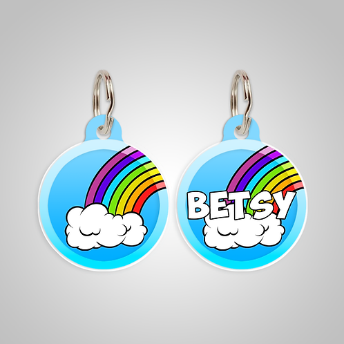 Rainbow Collection: Custom Dog ID Tag