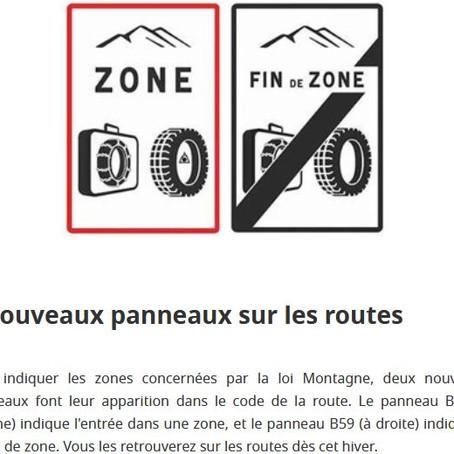 Informations sur les pneus d'hiver