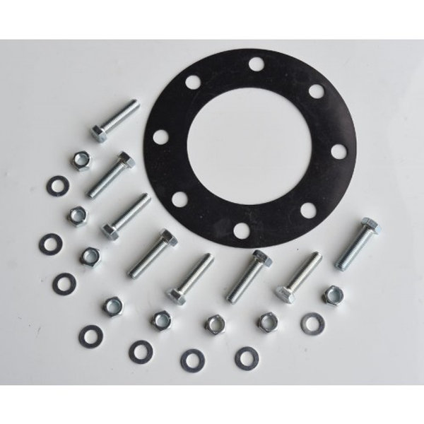 Full Face PN16 Flange Rubber Gasket & Bolt Set - various sizes