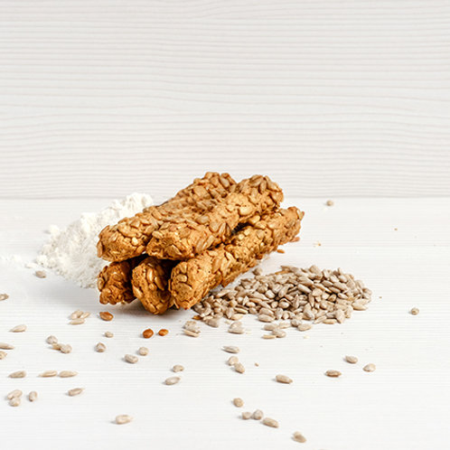 Breadsticks with sunflower seeds