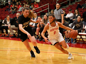 Women's Basketball: Nelson and Pina boost Terriers to second seed