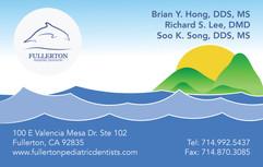 Fullerton Dentistry Business Card