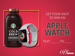 Apple Watch Giveaway Ad