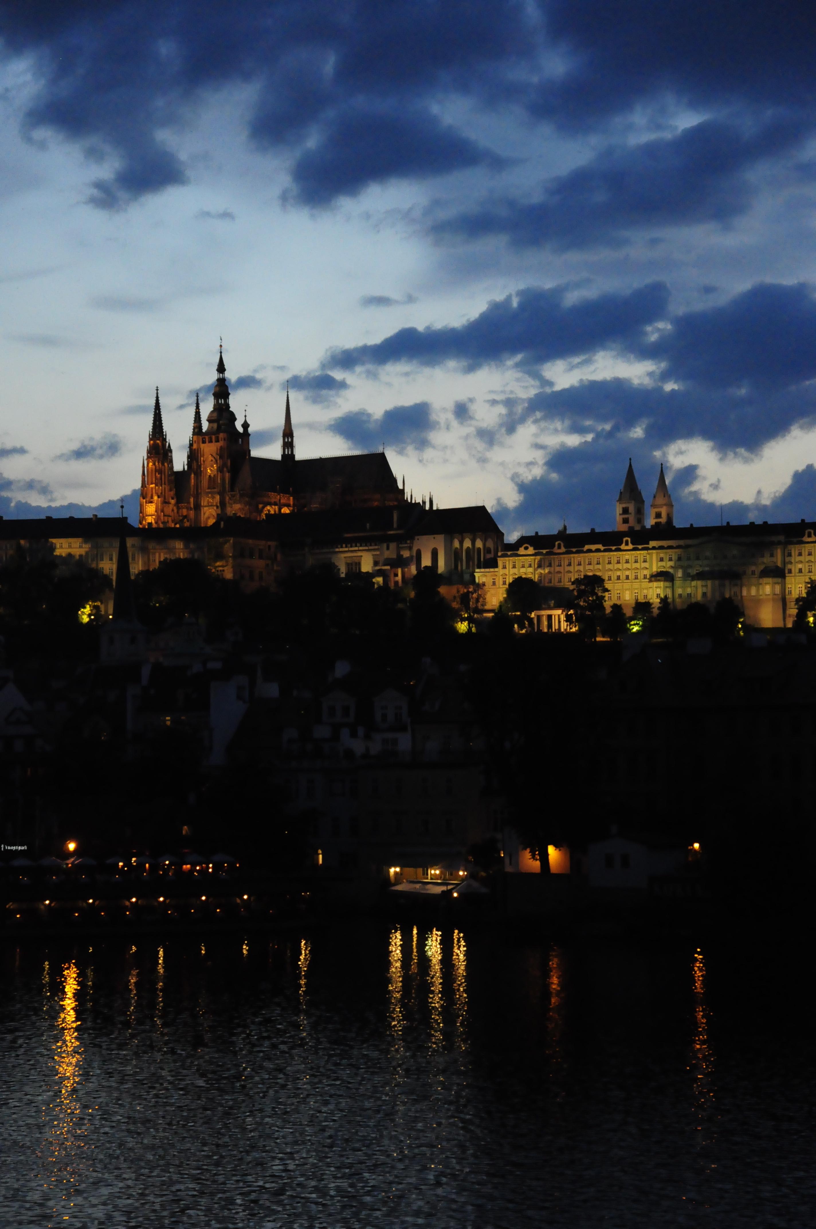 View of Pražský hrad