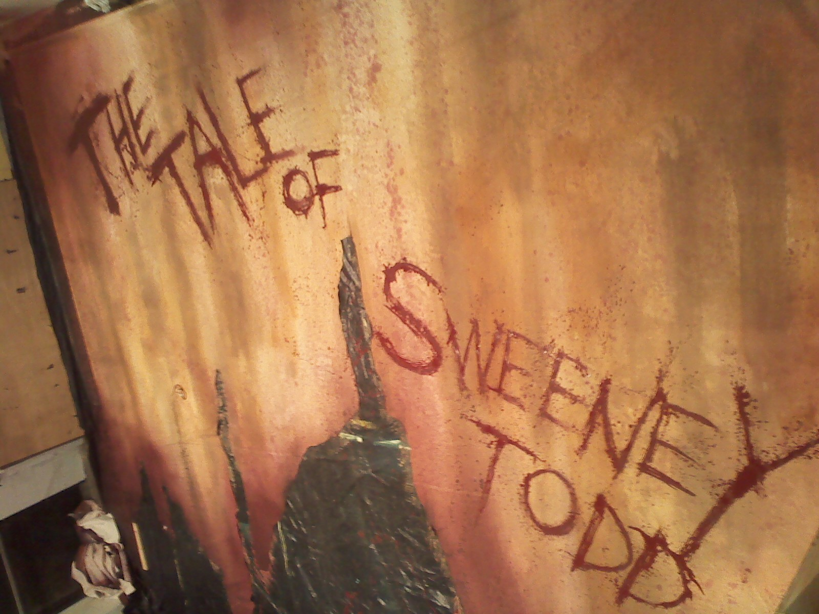 Sweeney Todd Show Curtain