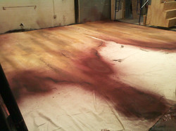 Sweeney Todd Show Curtain - Process
