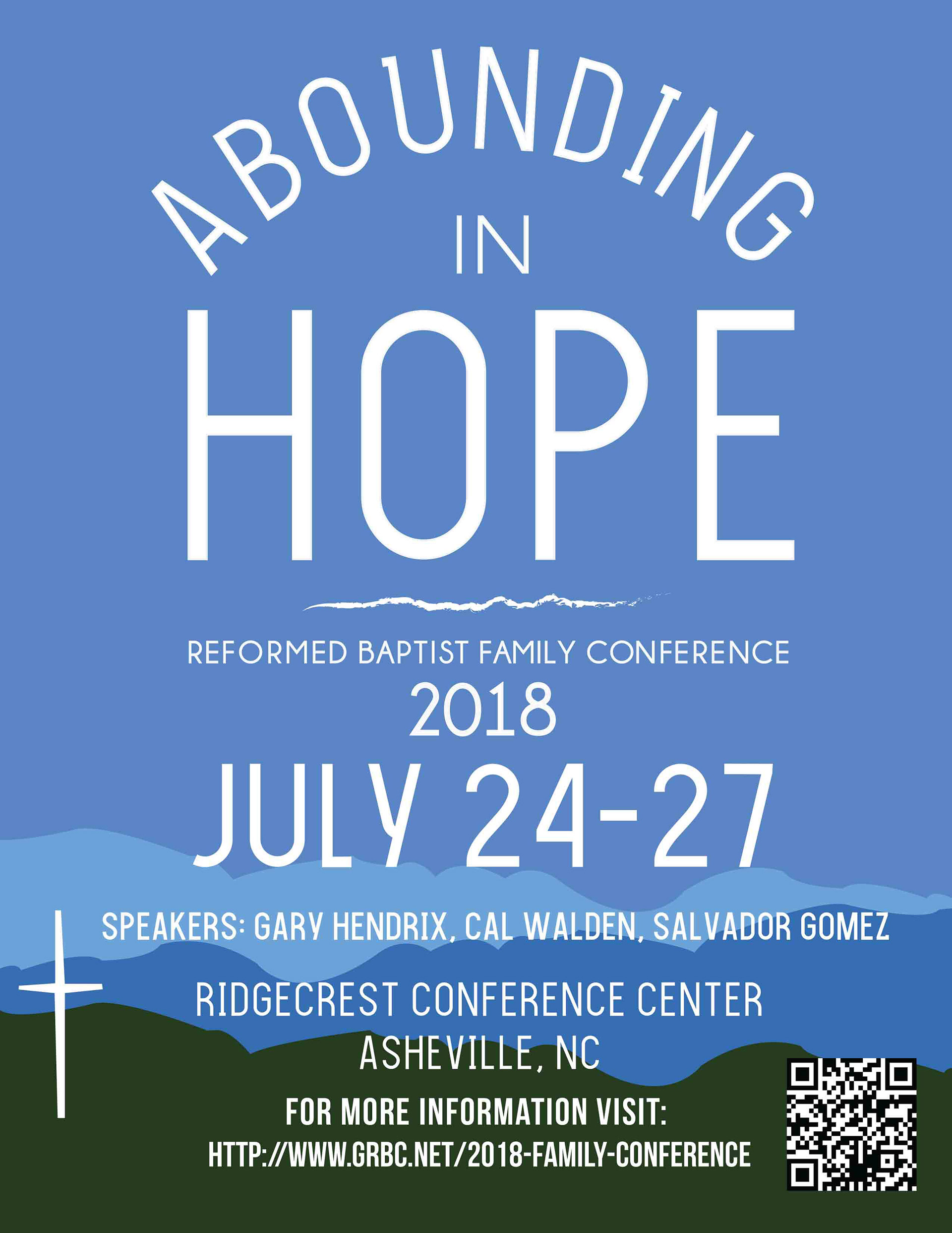 Abounding in Hope Poster