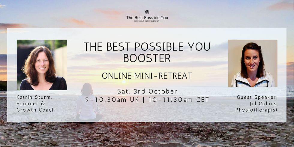 The Best Possible You ONLINE BOOSTER Mini Retreat