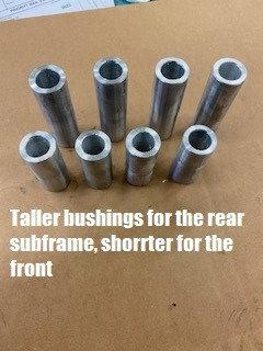 Cayenne?Touareg Subframe Centering Sleeves