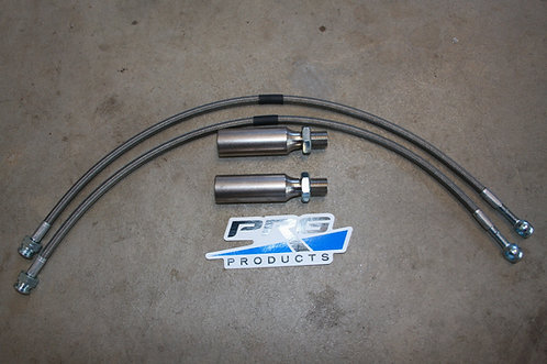 Titan Swap Tie Rod Extension and 19 Inch Brake Lines