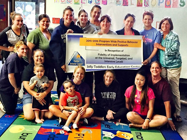 Joly Toddlers Early Childhood Education Center recognized by PBIS