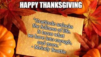 Thank-gratitude Day