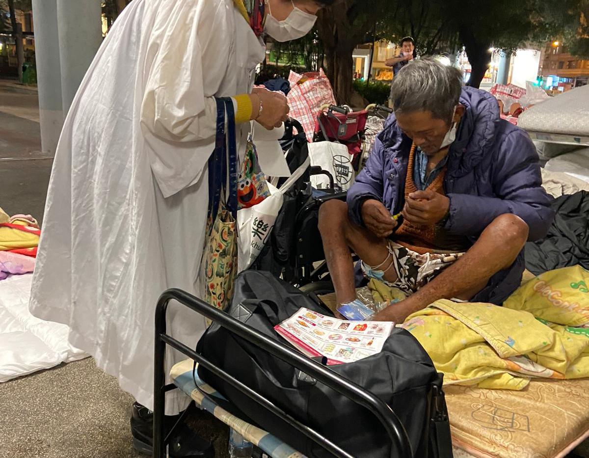 探訪靈宿者 Visit Homeless