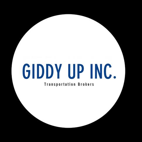 Giddy Up Inc. Logo White