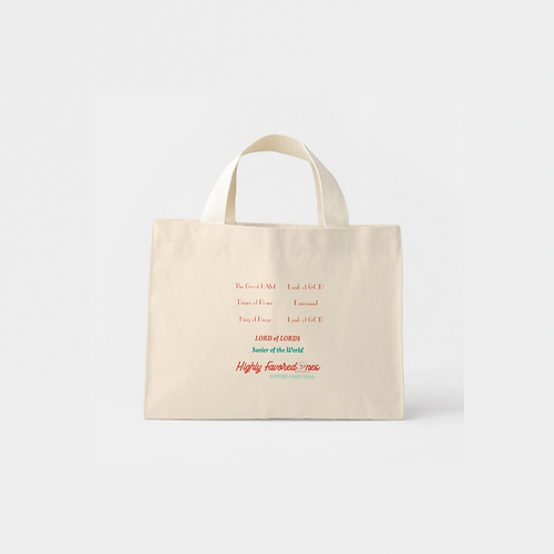 Highly Favored Tote Bag