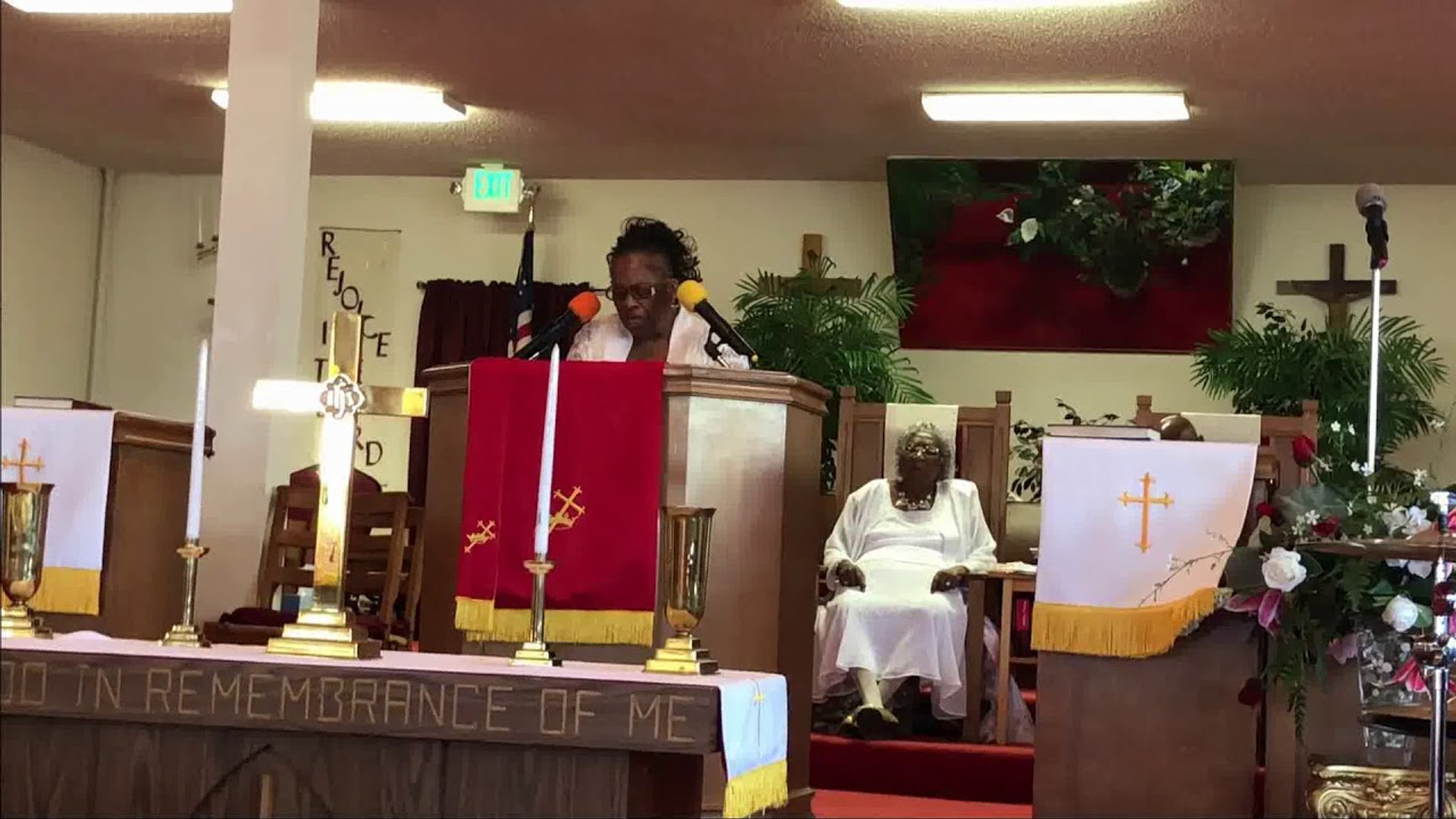 Evangelist Sandra Rozier