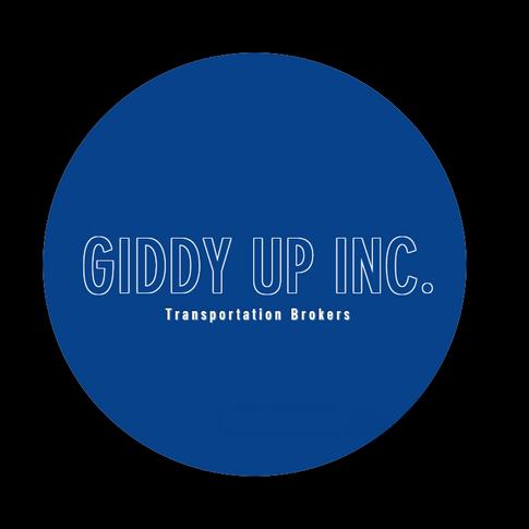 Giddy Up Inc. Logo Blue