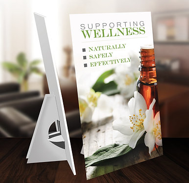 doTERRA Supporting Wellness display