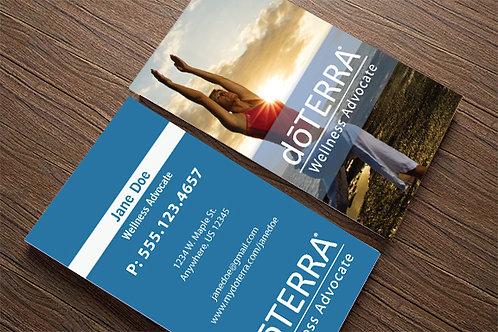 Yoga Wellness Custom Business Cards (500 quantity)