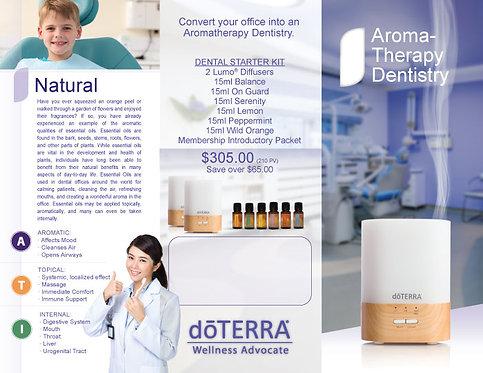 Doterra Dental Trifold - digital download .pdf