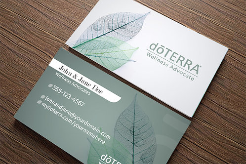 Leaf Lines Custom Business Cards (500 quantity)