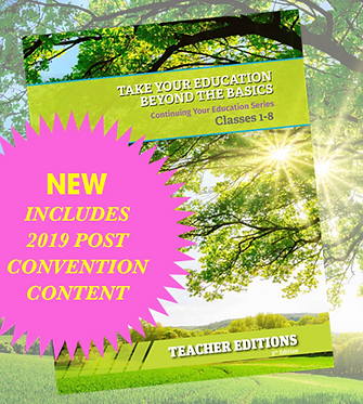 Wholesale - Continuing Your Education TEACHER Booklets