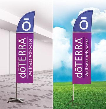 doTERRA Wellness Advocate Flag
