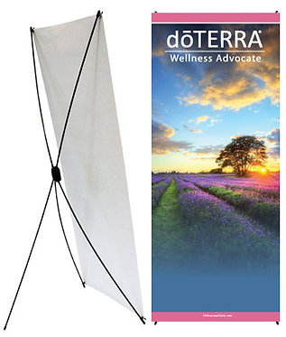 doTERRA X-Style Banner 24x60 (style 3)