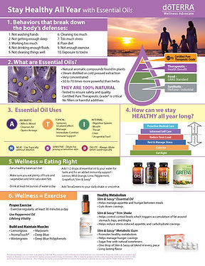 Stay Healthy Flyer - digital download .pdf