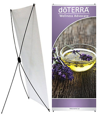doTERRA X-Style Banner 24x60 (style 2)