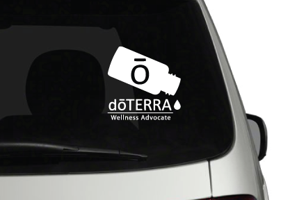 doTERRA Oil Bottle Vehicle Vinyl