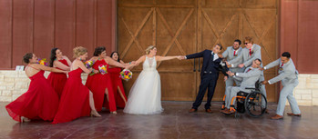 Wedding Party Photo, The Reserve at Dancing Elk, Mathis, Tx