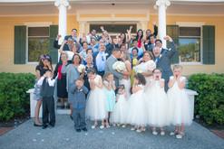 Wedding Day Family Photography at Heritage Park, Corpus Christi TX