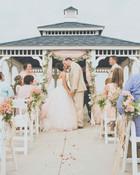 Wedding Ceremony in Rockport, Texas