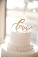 Wedding Cake and Wedding Photography Details, Corpus Christi, Texas