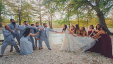Wedding Party Photography, Leaky, TX