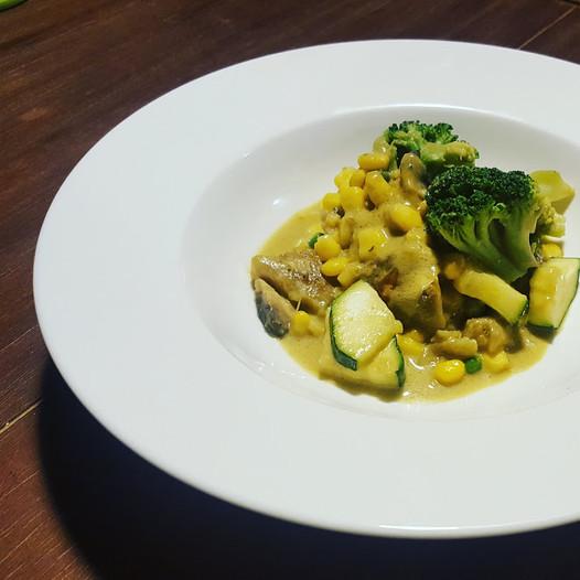Vega thai curry