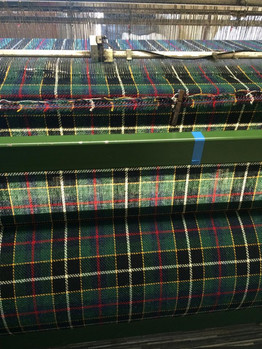 Harris Tweed being woven