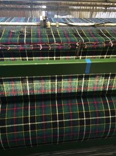Harris Tweed being woven