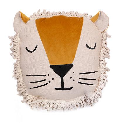 NOBODINOZ - Coussin tête de lion